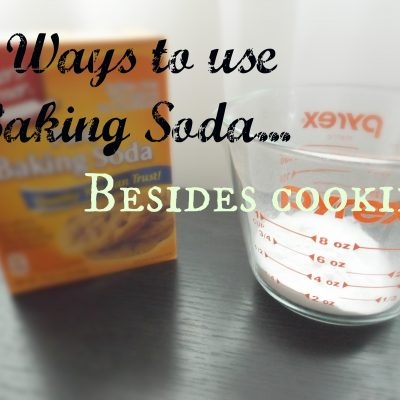 7 Great uses for Baking Soda…besides cooking