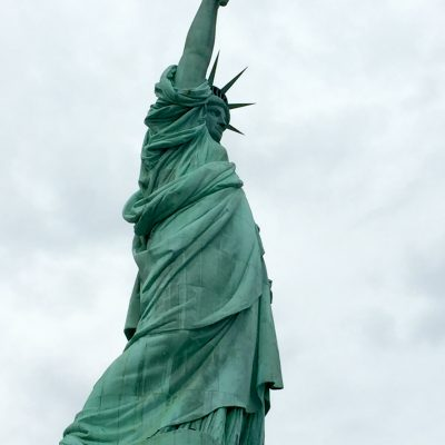 Out and about… Ellis Island and the Statue of Liberty