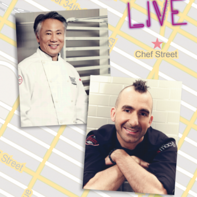A party to remember! Grand opening of Macy's Chef Street in NY