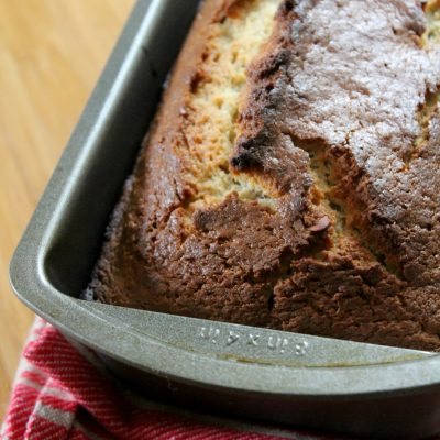 The Flavors of Fall: Apple-Almond Loaf Bread