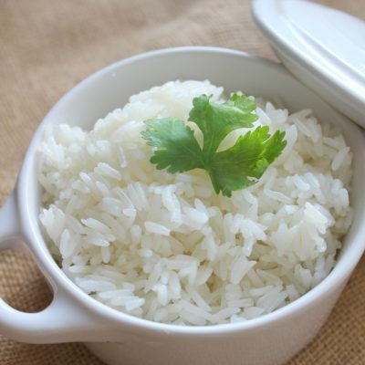 How to make Latin style white rice