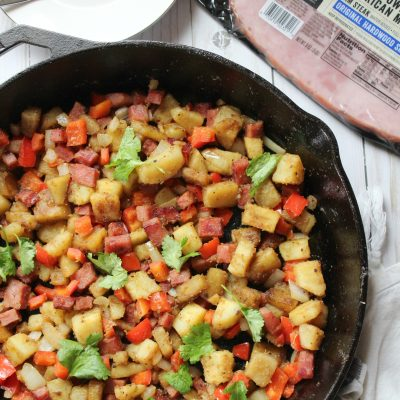 Hatfield® Ham Steak Sweet Potato Hash