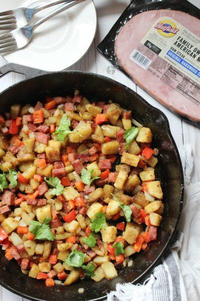 Hatfield® Ham Steak Sweet Potato Hash